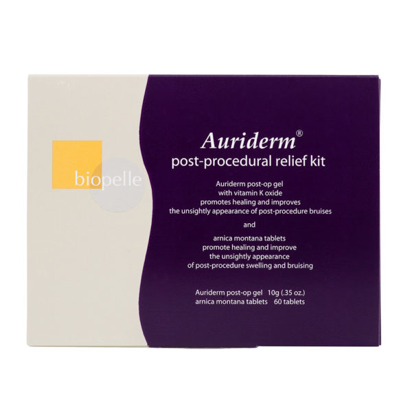 Auriderm Post Relief Kit