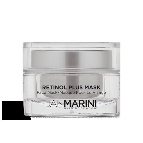 retinol plus mask bottle marini